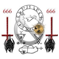 The seals of Lucifer and Clauneck