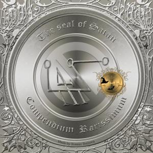 This is the seal of demon Satan från Compendium Rarissimum.
