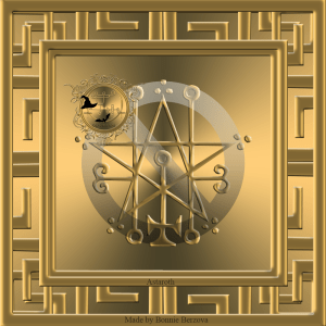 This is the seal of Astaroth from Goetia.