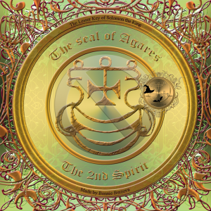 This is the seal of Agares from Goetia.