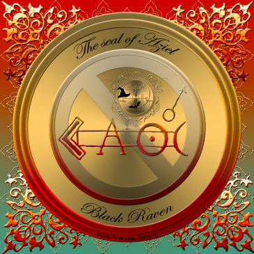 This is the seal of Aziel from Faust's Black Raven.