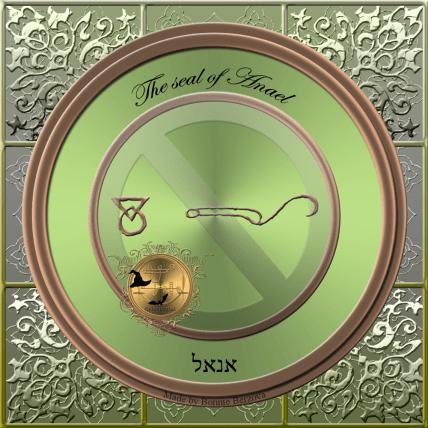 The seal of Anael (Venus)