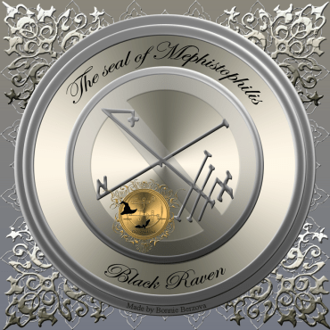 This is the seal of Mephistophilis from the Black Raven.