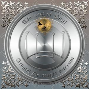 奧林匹克精神Phul在Arbatel De magia veterum中有所描述,這就是他的印記。