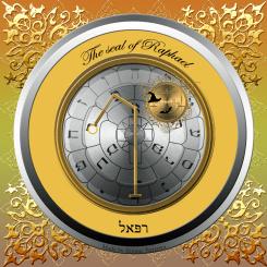 The seal of Archangel Raphael