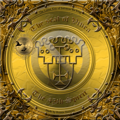 Demon Vine is described in the Goetia and this is his seal.