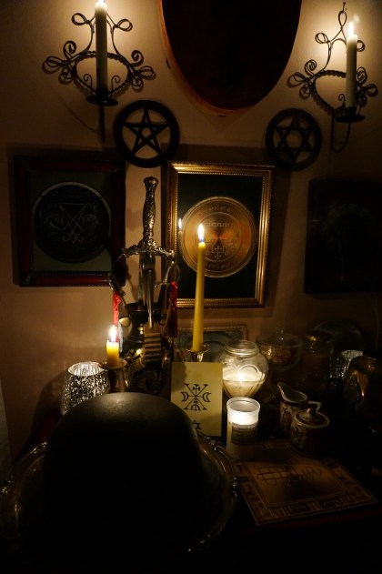 Funeral rituals are done with the aid of Goetia demons Bifrons, Bune and Murmur.