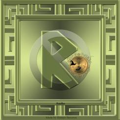 This is the rune Raidho.