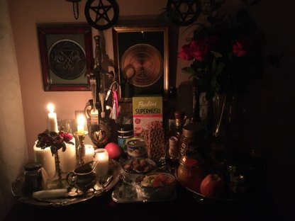 Necromantic and demonic magick: this is a ghost party for high ranking dead military staff.