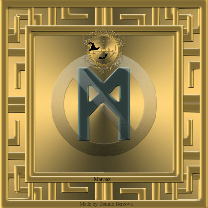 The rune Mannaz