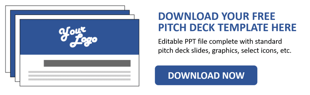 Template for Pitch Deck