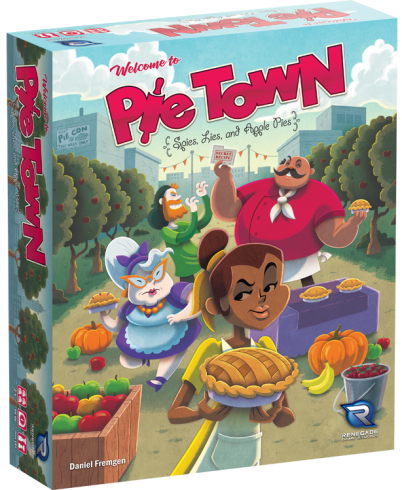 Pie Town: Spies, Lies and Apple Pies