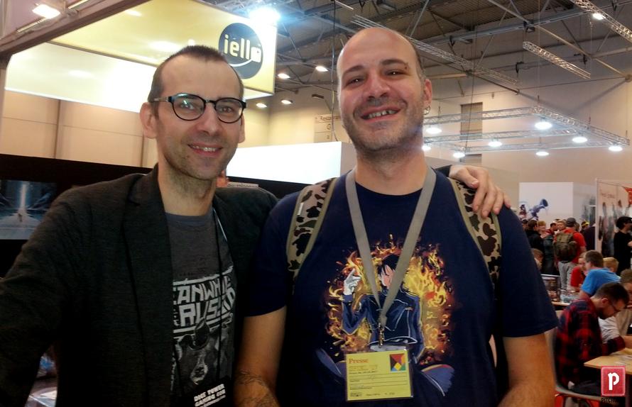 Vlasnik Portal Games, Ignacij Trževiček i glavni urednik Pitchwise.net, Veljko Vuković