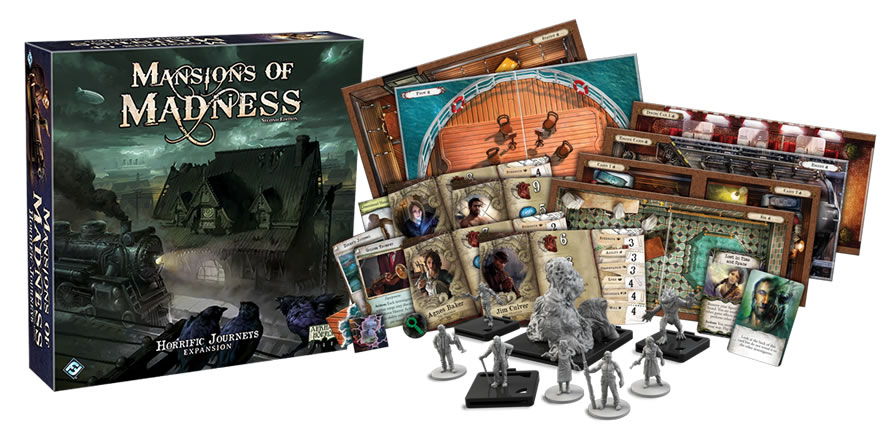 Mansion of Madness Horrific Journeys