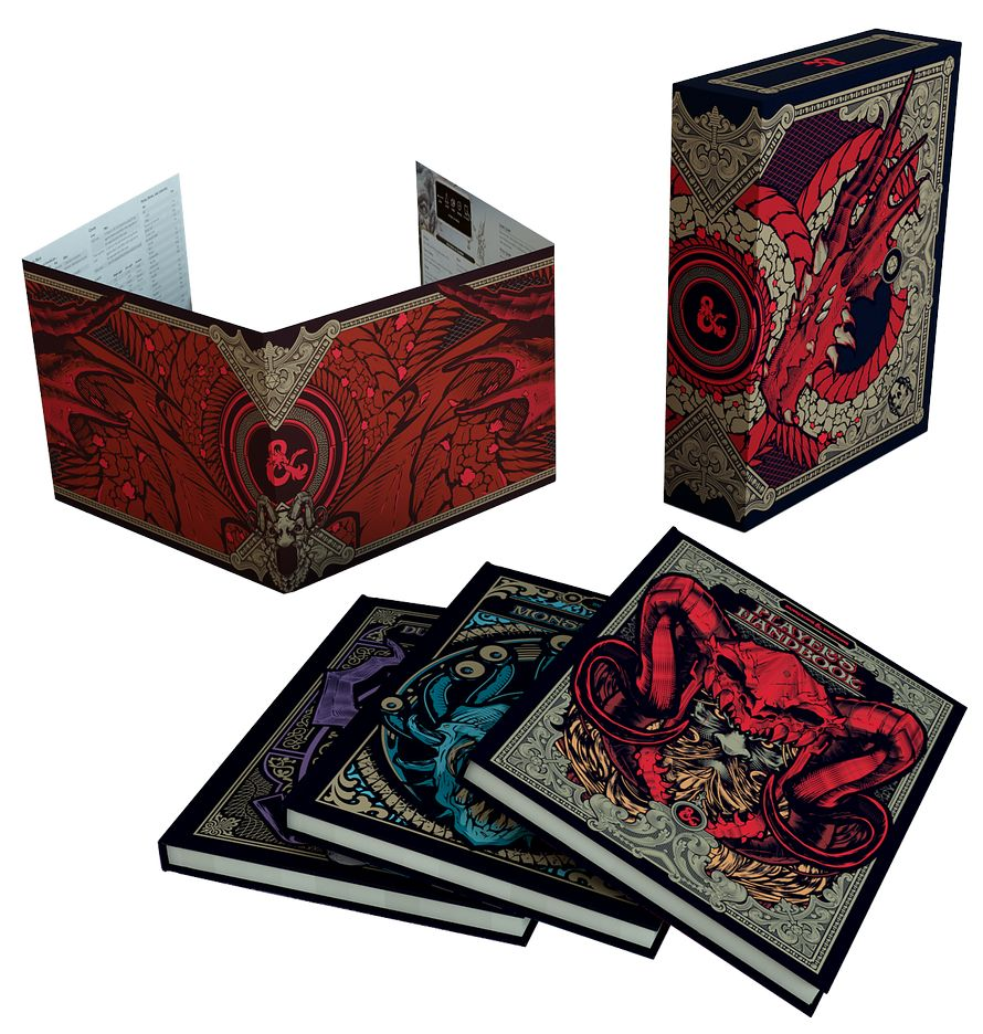 Dungeons & Dragons Core Rulebooks Gift Set Special Edition
