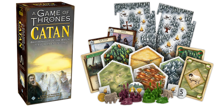 A Game of Thrones: Catan: Brotherhood of the Watch