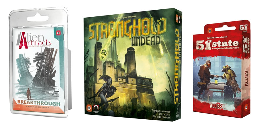 Alien Artifacts: Breaktrough, Stronghold 2nd Ed: Undead. 51st State: Allies