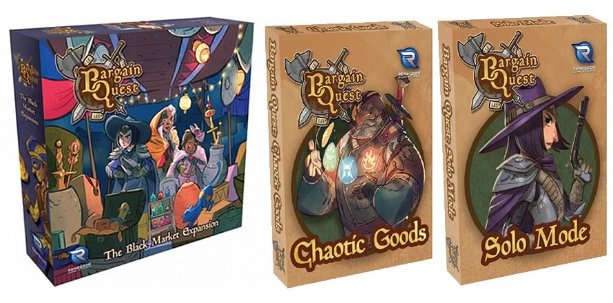 Bargain Quest The Black Market, Chaotic Goods, Solo Mode