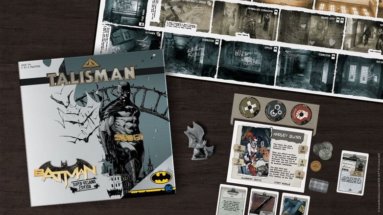 Talisman: Batman - Supervillains Edition (PHOTO: The Op)