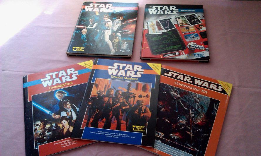 Star Wars d6 - West End Games (PHOTO: spalanz.com)