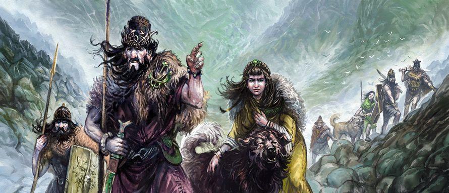 Hillmen and Wolfdogs (Merlkir)
