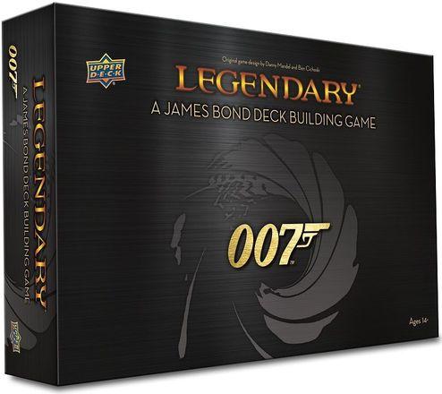 Legendary: A James Bond Deck Building Game 007