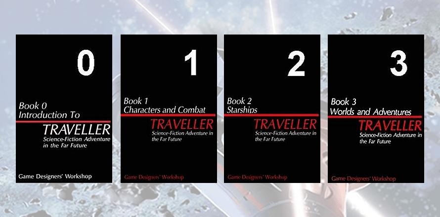 Osnovni set knjiga Traveller