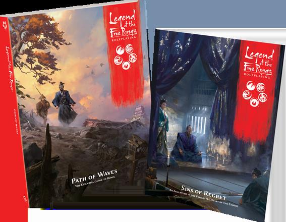 Nove RPG igre: Legend of 5 Rings: Path of Waves, Sins of Regret