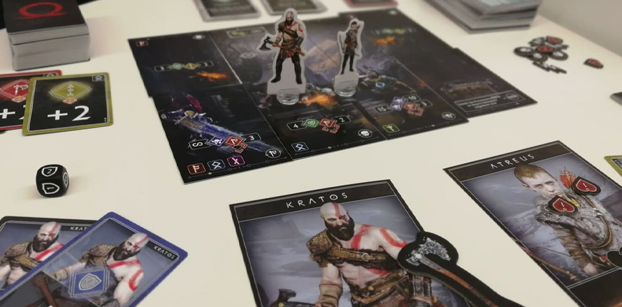 God of War card game