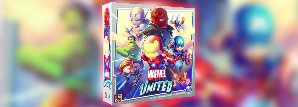 Marvel united board game društvena igra