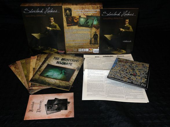 Sherlock Holmes Consulting Detective: The Thames Murders & Other Cases (PHOTO: schizoferret (BGG))