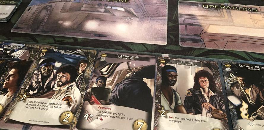 Legendary Encounters: An Alien deckbuilding game