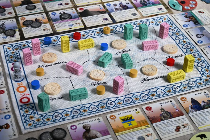 Pax Pamir 2nd Edition (PHOTO: @Triangulate (BGG))