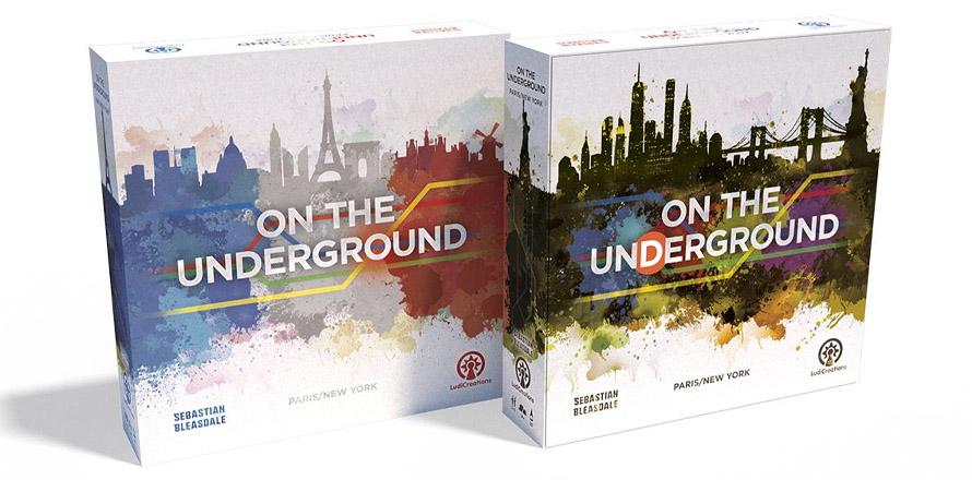 On the Underground: Paris/ New York