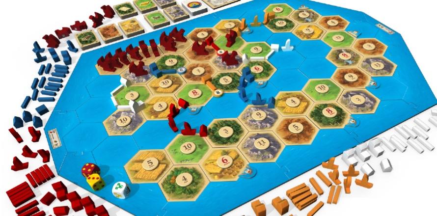 Catan: Treasures, Dragons & Adventures