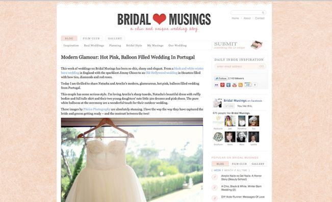 bridalmusings