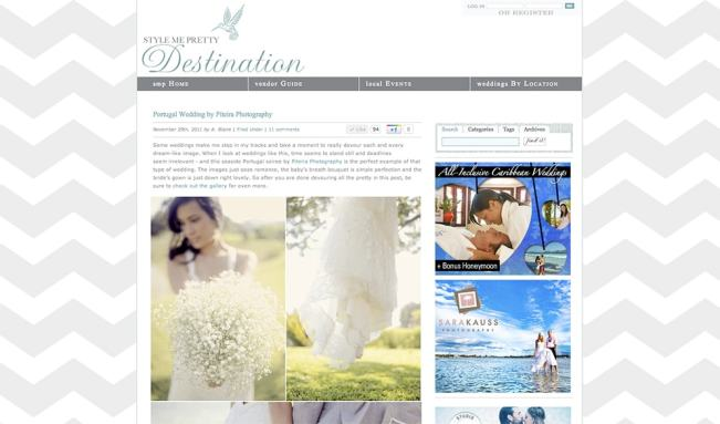 Destination wedding Europe
