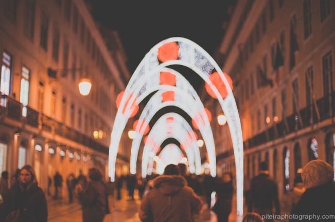Christmas Lights Lisbon