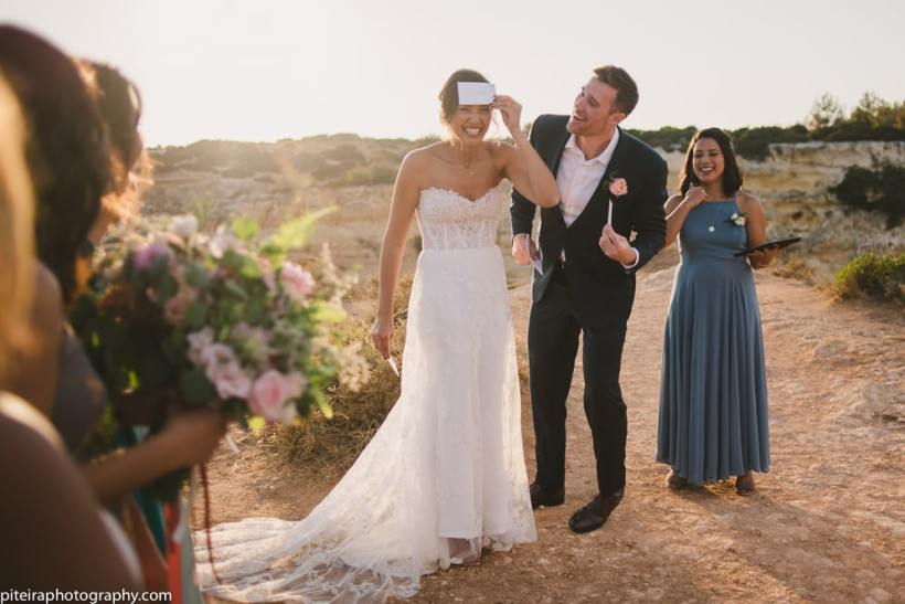 Elopement in the Algarve