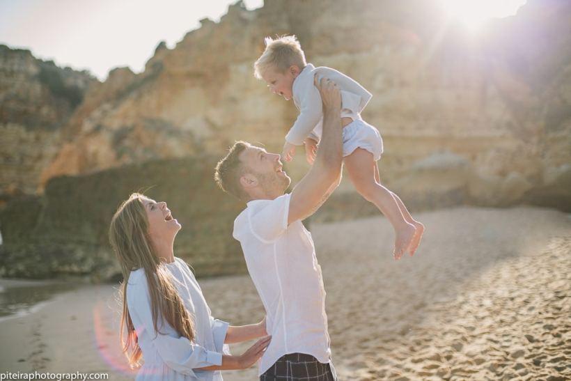 Family Photo Session Algarve Portugal