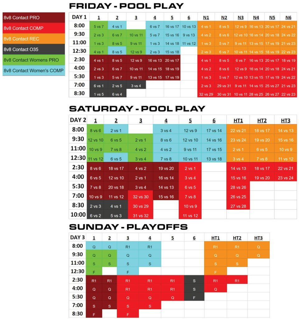 8v8-Contact-Schedules