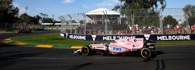 Sergio Pérez - Force India - Australia - Carrera