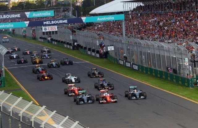 Parrilla Temporada F1 2017