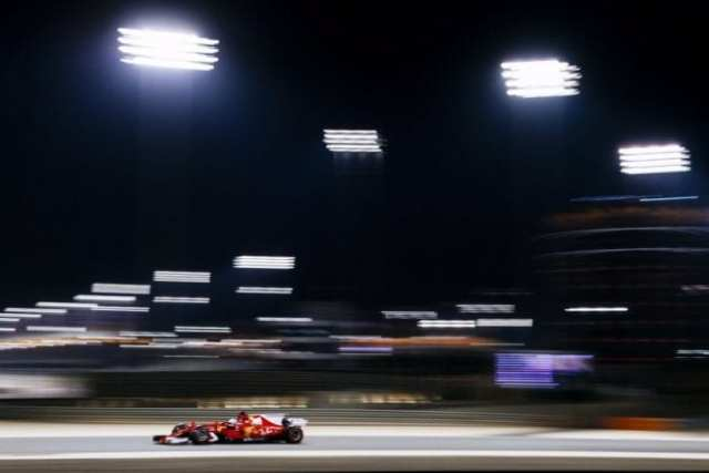 Sebastian Vettel - Ferrari - Bahréin - Sábado