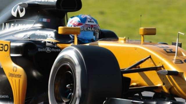 Jolyon Palmer - Renault - España - Previo