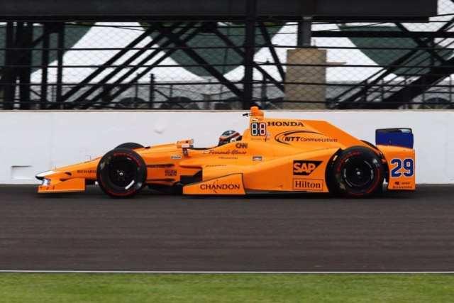 Fernando Alonso - McLarenHonda Andretti - IndyCar - 500 Millas de Indianápolis