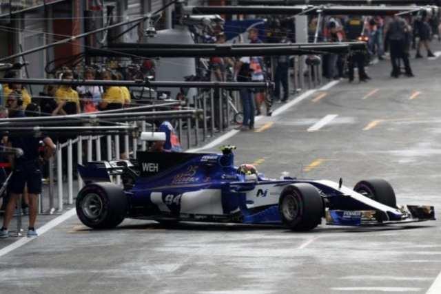 Pascal Wehrlein - Sauber - Bélgica - Sábado