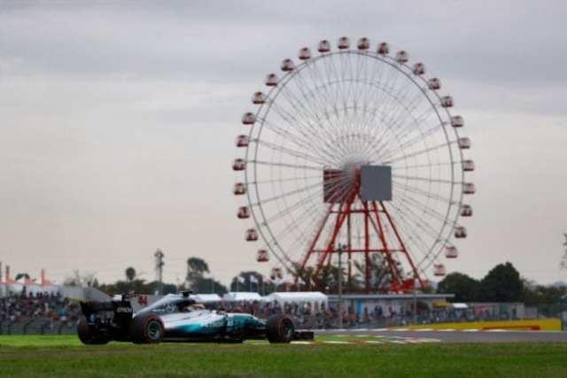 Lewis Hamilton - Mercedes - Japón - Sábado