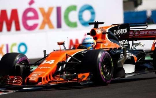 Fernando Alonso - McLaren - México - Viernes