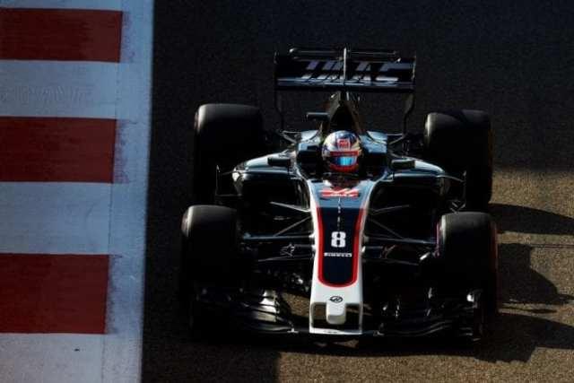 Romain Grosjean - Haas - Abu Dhabi - Viernes